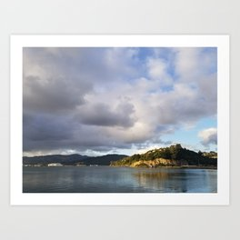 The Mouth of Andersons Bay Art Print