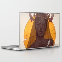 prince Laptop & iPad Skins featuring Fallen Prince by Sheryn Ng (rynisyou)
