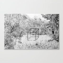 The Precipice of Man Canvas Print