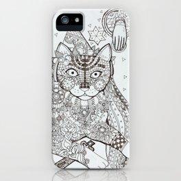 Maghreb cat (2) iPhone Case