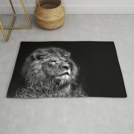 Proud Young Lion Rug