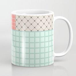 Retro patchwork Coffee Mug
