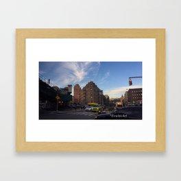Dyckman Nation 1.0 Framed Art Print