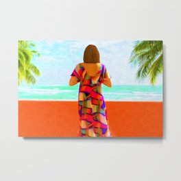 Shall I Compare Thee To A Summer's Day? Metal Print