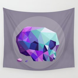 crystal skull Wall Tapestry