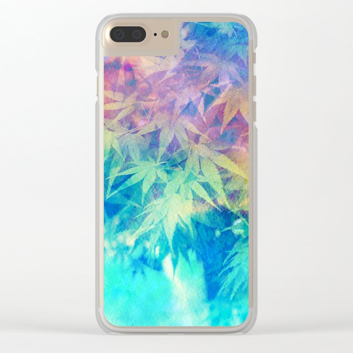 Spring is in the Air 15 Clear iPhone Case