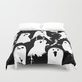 Ghost Splats Duvet Cover