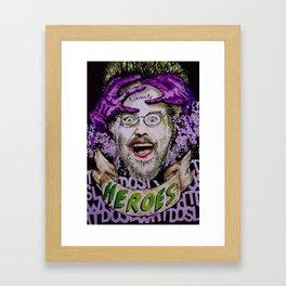 """Collider Heroes """"Joker Schnepp"""" Framed Art Print"""