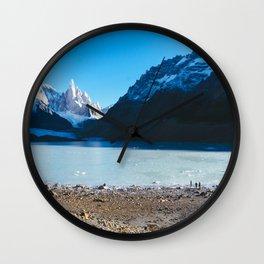 Laguna Torre, Patagonia, Argentina Wall Clock
