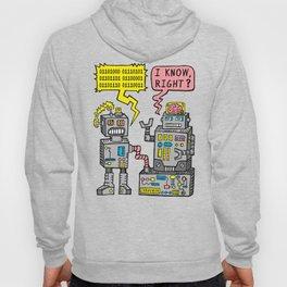 Robot Talk Hoody
