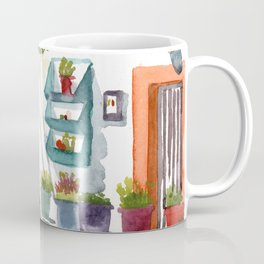 Front garden in Haraki Coffee Mug
