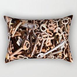 skeleton key Rectangular Pillow