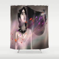 pocahontas Shower Curtains featuring Pocahontas by Ricky_Disneyart