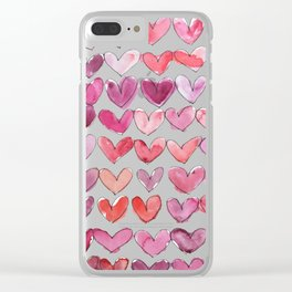 I Heart You Clear iPhone Case