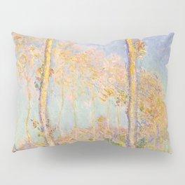 1891-Claude Monet-Poplars-74 x 93 Pillow Sham