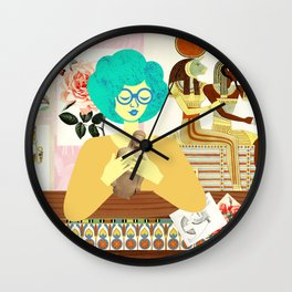 Egyptian Room Wall Clock