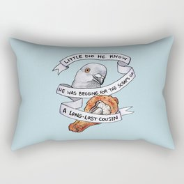Bird no. 118: Tastes Like Steve Rectangular Pillow