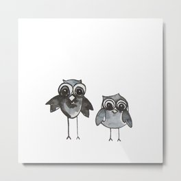 Two Feathered Friends Metal Print