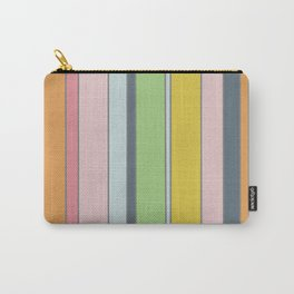 Soft seventies stripes Carry-All Pouch