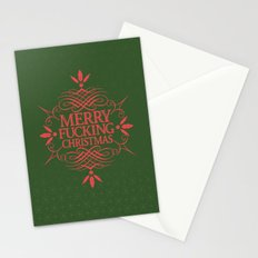 Merry Effin Christmas Stationery Cards