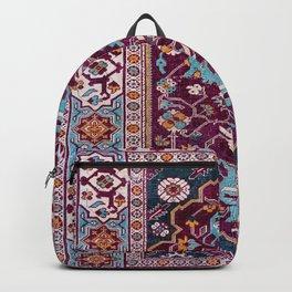 Romanian  Antique  Double Niche Carpet Backpack