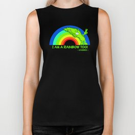 I am a Rainbow Too! - Kanebes - Biker Tank