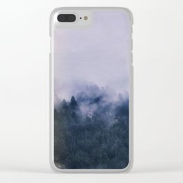 Forest Cump At Autumn Clear iPhone Case