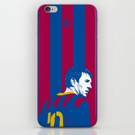Messi Barcelona iPhone Skin