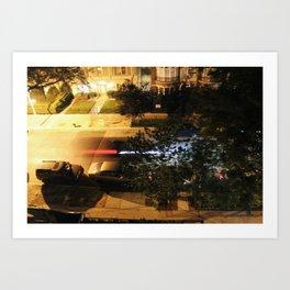 Chicago Rush Hour Art Print