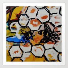 Bee Detail from