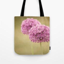 Alliums Tote Bag