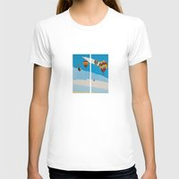 hot air balloons T-shirts featuring Hot Air Balloons by Shelley Chandelier