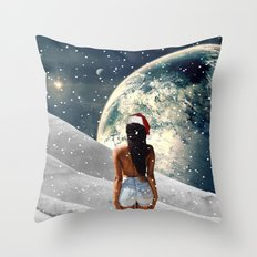 Awakening Christmas Edit Throw Pillow