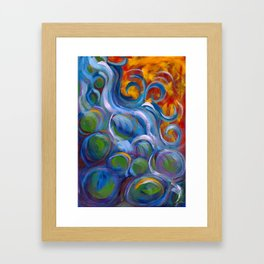 River Rest Framed Art Print