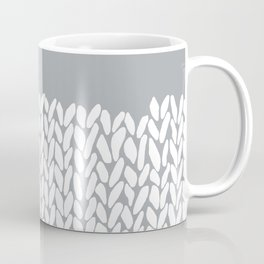 Half Knit Grey Coffee Mug