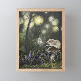 Trust and fairydust Framed Mini Art Print
