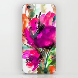 Serendipity 2A by Kathy Morton Stanion iPhone Skin