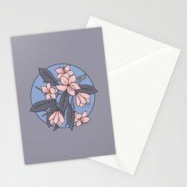Sakura Branch - Rose Quartz + Serenity Stationery Cards