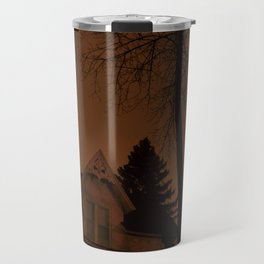 Shadowy house Travel Mug