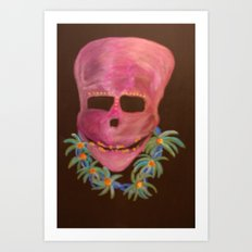 Caribbean Harry Art Print