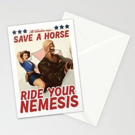 Ride Your Nemesis Stationery Cards