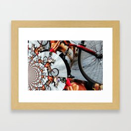 Time Cycle Framed Art Print