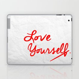 Love Note to Yourself Laptop & iPad Skin