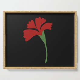 Hadestown Flower Serving Tray