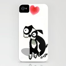 pouty face loves his dog Slim Case iPhone (4, 4s)