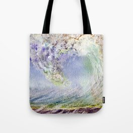 Fury Tsunami by Maureen Donovan Tote Bag