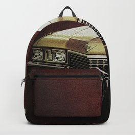 1972 Golden Cadillac Backpack