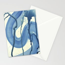 Watercolor Monoprint #4 Stationery Cards