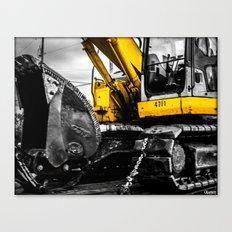 Yellow Bastard Canvas Print