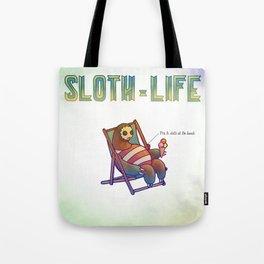 SLOTH LIFE fig. 6. Tote Bag